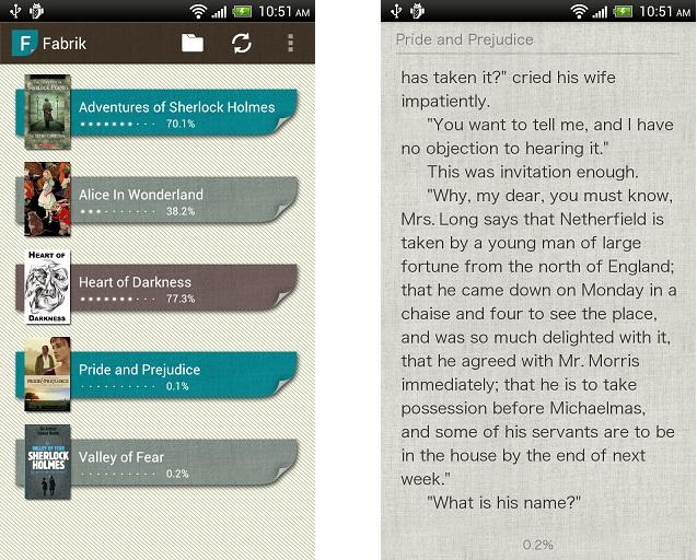 Fabrik Reader: Top App for Nexus 7