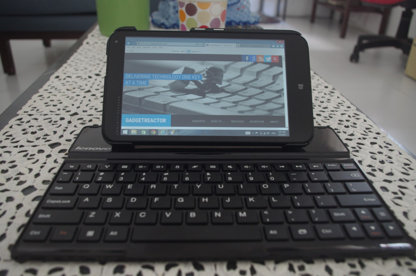 Case Design phone case with keyboard : Review: Lenovo S6000 Bluetooth Keyboard u2013 GadgetReactor